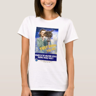 Women Joining the Weather Service WWII T-Shirt