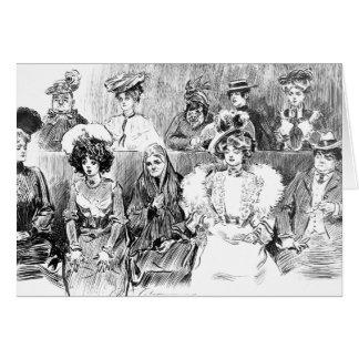 Women Jurors 1902 Card