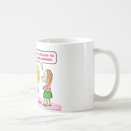 women long dresses coffee mug