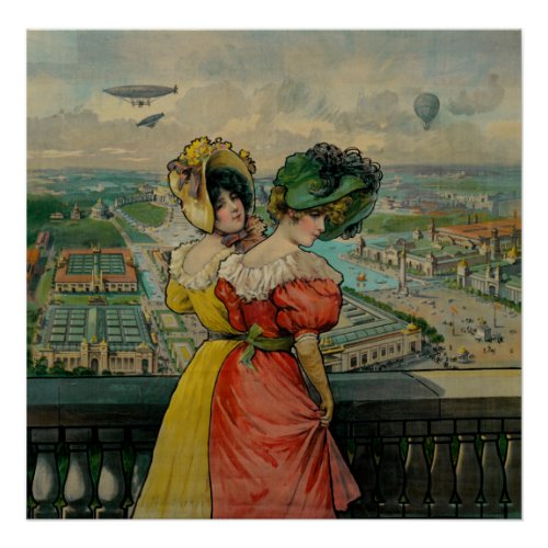 Women Looking at the World's Fair, 1904