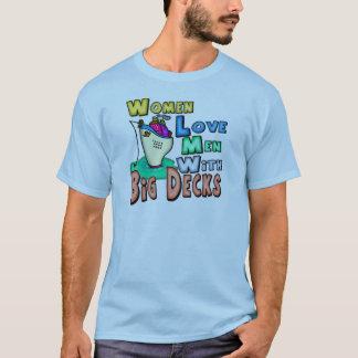 Women Love Big Decks Fishing T-shirts and Gifts