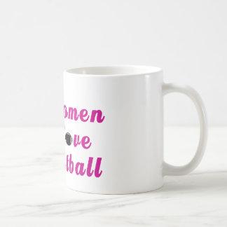 Women Love Football Mug
