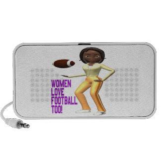 Women Love Football Too Speaker