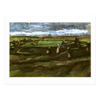 Women Mending Nets, Dunes, Vincent van Gogh Postcards