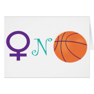 Women-N-Basketball Card