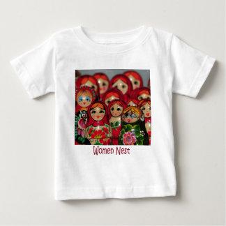 Women Nest, Russian Nesting Dolls Infant T-shirt
