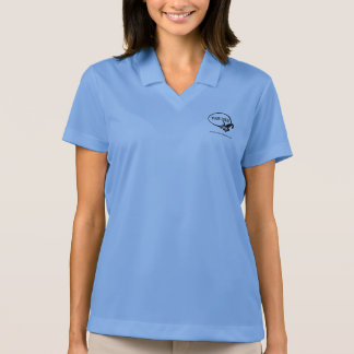 Women Nike Dri-FIT Polo Shirt Employee Staff Work