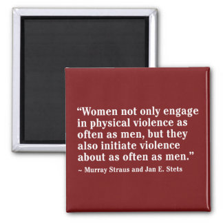 Women Not Only Engage In Physical Violence … Magnet