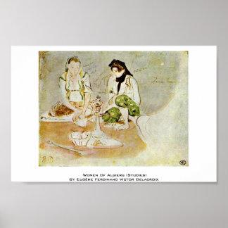 Women Of Algiers (Studies) Posters