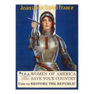 Women of America Save Your Country Vote Tea Party Custom Flyer