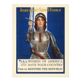 Women of America Save Your Country Vote Tea Party Flyer