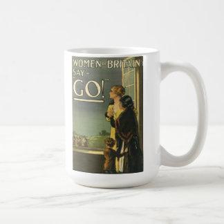"""""""Women of Britain Say Go"""" Mug"""