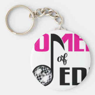 Women of EDM Logo Merch Keychain