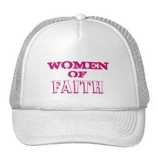 WOMEN, OF, FAITH TRUCKER HAT