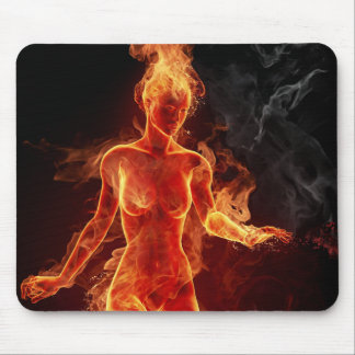 Women Of Fire Mouse Pads