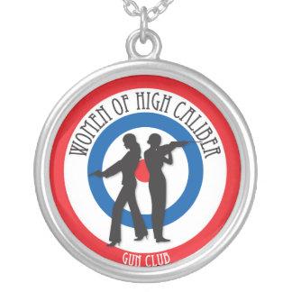 Women of High Caliber Necklace