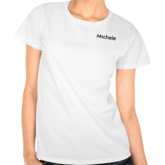 Women of High Caliber on White Personalized Tee Shirt