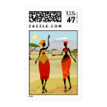 Women of Kenya animation Postage