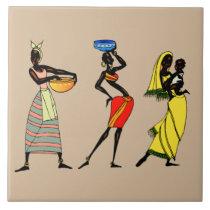Women of Kenya animation Tile