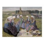 Women of Plougastel Post Card