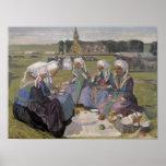 Women of Plougastel Poster