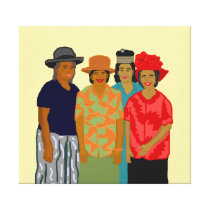 Women of the Church on Canvas