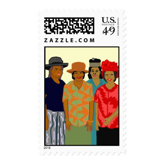 Women of the Church Stamp