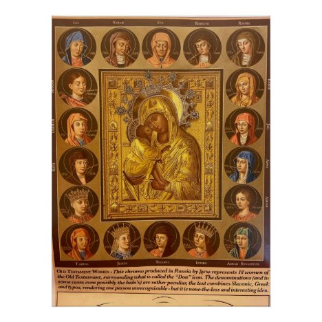 Women of the Old Testament with Our Lady Poster