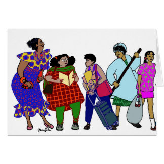 Women of the World-1 Greeting Card