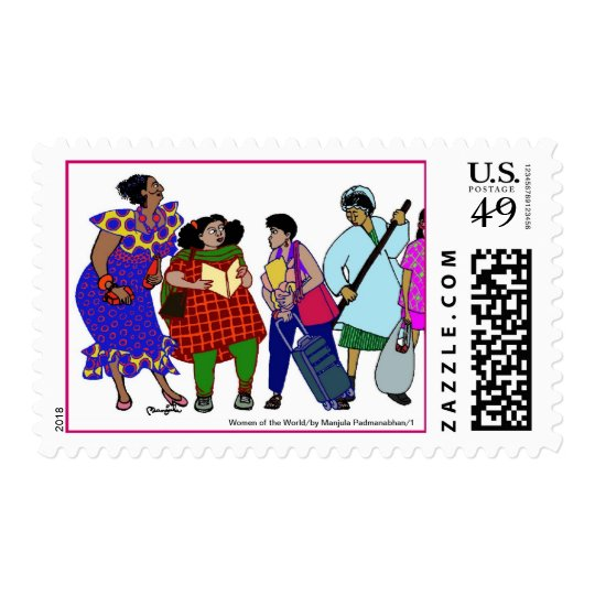 Women of the World/1 Postage