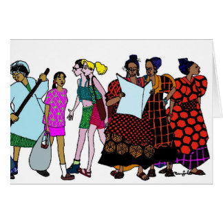 Women of the World - 2 Card