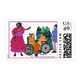 Women of the World/ 3 Postage