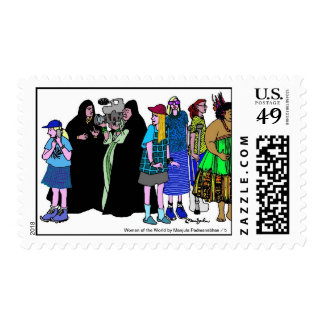 Women of the World/ 5 Postage Stamps