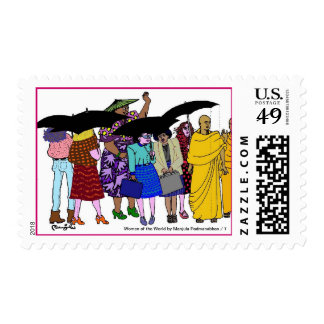 Women of the World/ 7 Postage