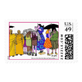 Women of the World/ 8 Stamps