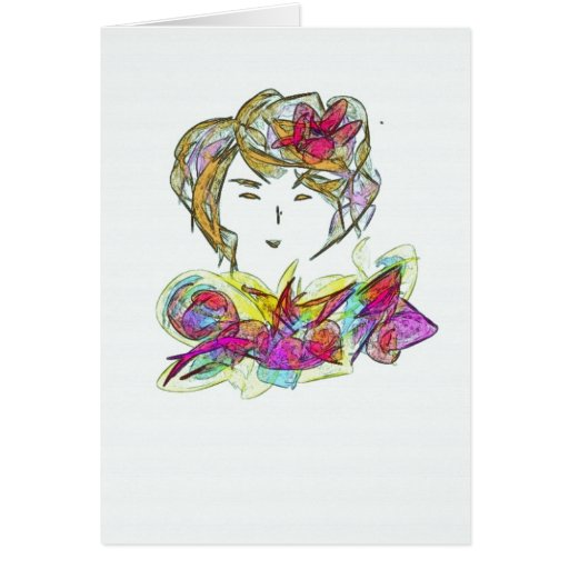 Women of the World Notecard #7 Stationery Note Card