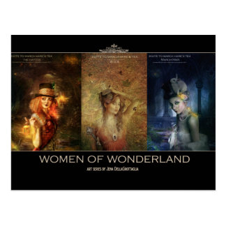 Women of Wonderland Postcard
