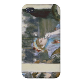 Women on a Cafe Terrace, 1877 iPhone 4 Cover
