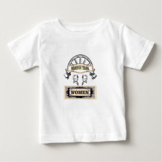 women on the oregon trail baby T-Shirt