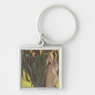 Women on the Street, 1915 Keychain