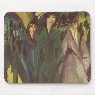 Women on the Street, 1915 Mouse Pad