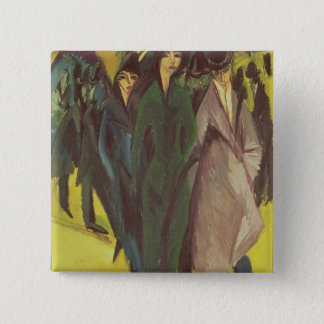 Women on the Street, 1915 Pinback Button