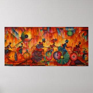 Women On Wheels - Canvas Print
