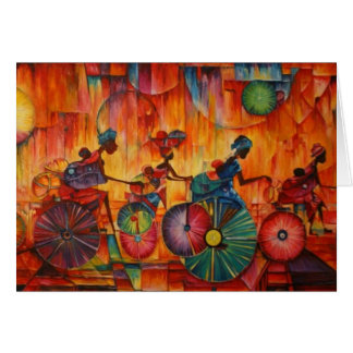 Women On Wheels Greeting Card