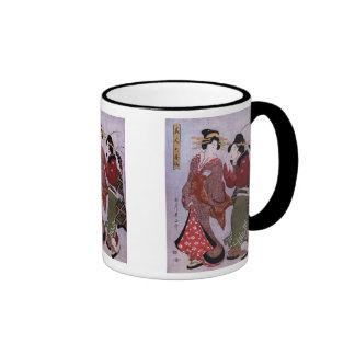 Women Out for A Walk Mugs and Steins