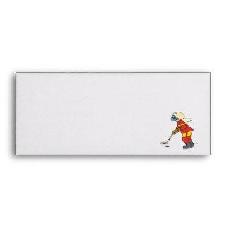 Women Play Hockey Too Envelopes