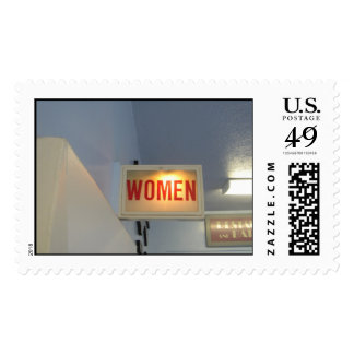 women postage stamp