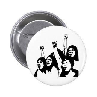 Women Power Pinback Buttons