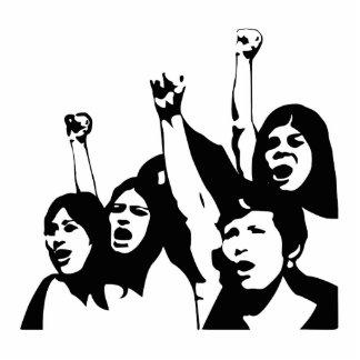 Women Power Cutout