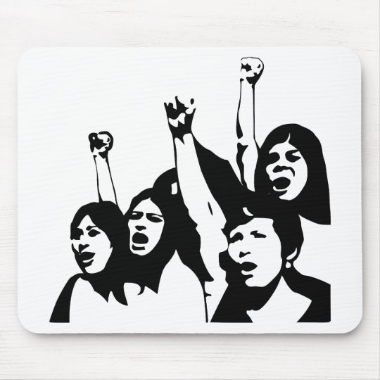Women Power Mouse Pad